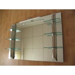 Oglinda baie cu Etajere 120X80-LS-3213
