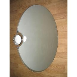 Oglinda baie cu Lupa 80X60
