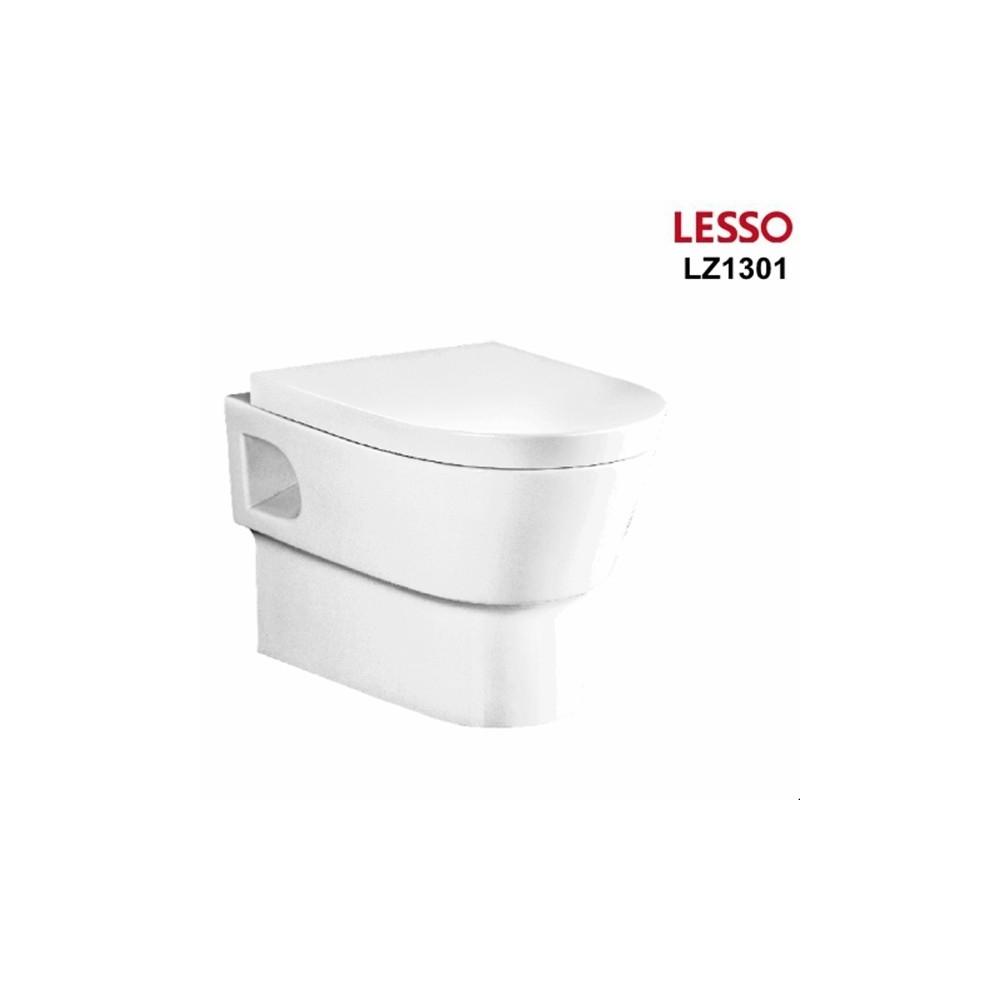 Set WC CERAMIC de perete suspendat LESSO-LZ 1301